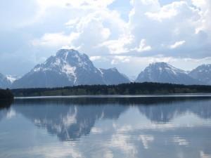 Mirror, mirror on the Lake.