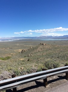 Mono Lake looking south.
