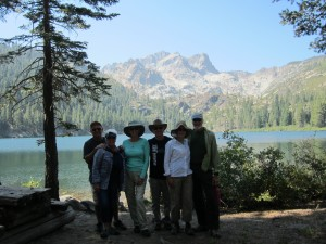 Sardine Lake with the Coverts and Donnollys 2016