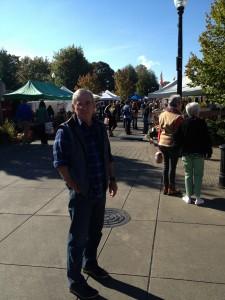 At Farmer's market