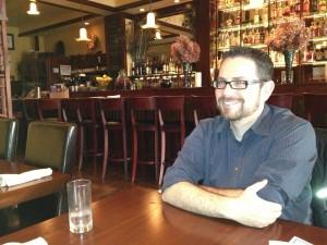 Ryan at tapas joint.