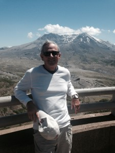 Rayman does Mt. St. Helens.